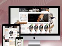 Продуманный до мелочей дизайн сайта или интернет-магазина.