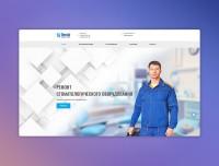 Разработка лендинга по услугам ремонта стоматологического оборудования