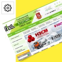 """Интернет-магазин кирпичного завода """"Тибл-Груп""""(программирование, Битрикс)"""