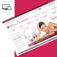 """Клиника косметологии """"Guinots"""" (дизайн, программирование, Битрикс)"""