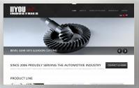 Сайт-визитка производителя передаточных механизмов