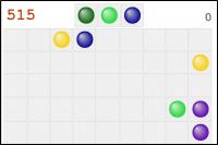 """Классическая игра """"Цветные линии"""""""