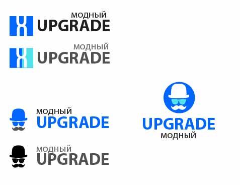"Логотип интернет магазина ""Модный UPGRADE"" фото f_46059412744dc315.jpg"