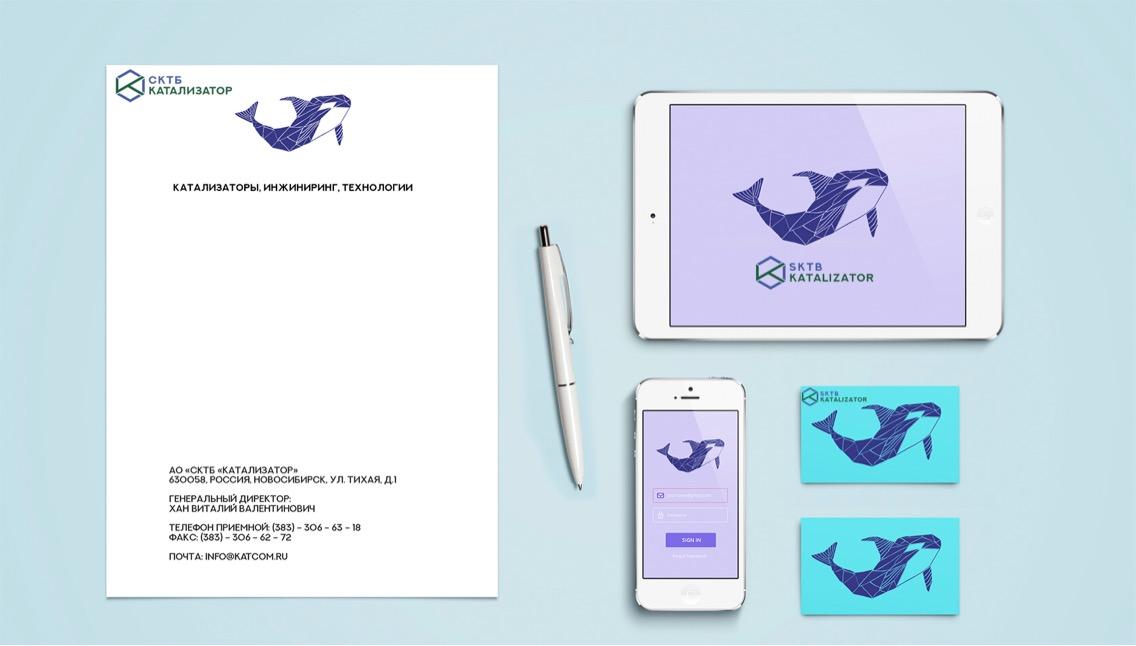 Разработка фирменного символа компании - касатки, НЕ ЛОГОТИП фото f_5155b039e34bb71d.jpg