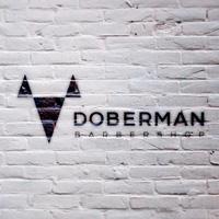 Doberman barbershop