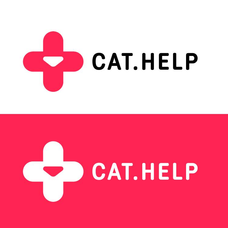логотип для сайта и группы вк - cat.help фото f_18759d9c7d25d2d2.jpg