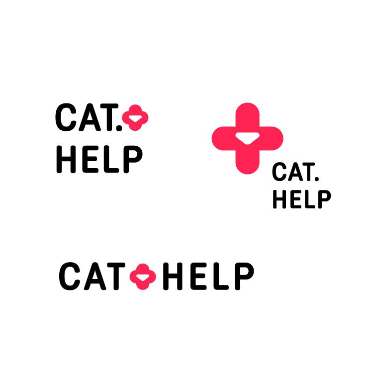 логотип для сайта и группы вк - cat.help фото f_22159d9c7e07fba7.jpg