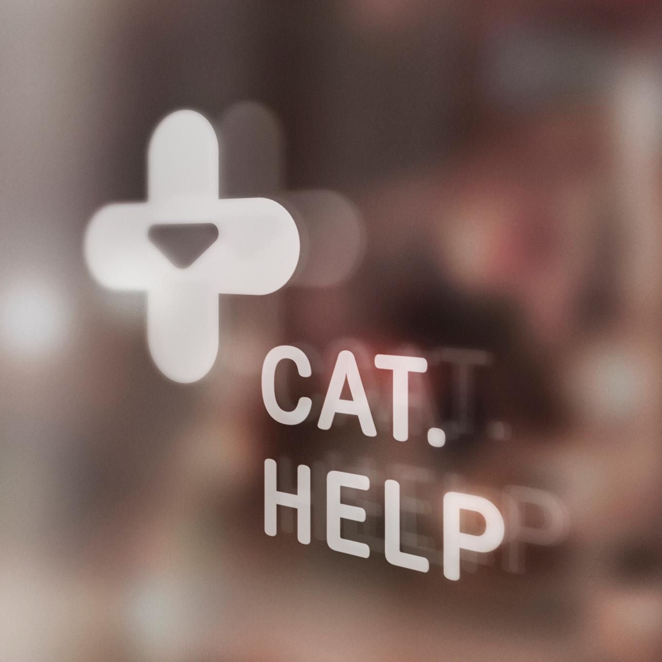 логотип для сайта и группы вк - cat.help фото f_90359d9c7ea2328e.jpg