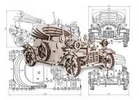 Форд Т, детский конструктор, фанера 4мм.