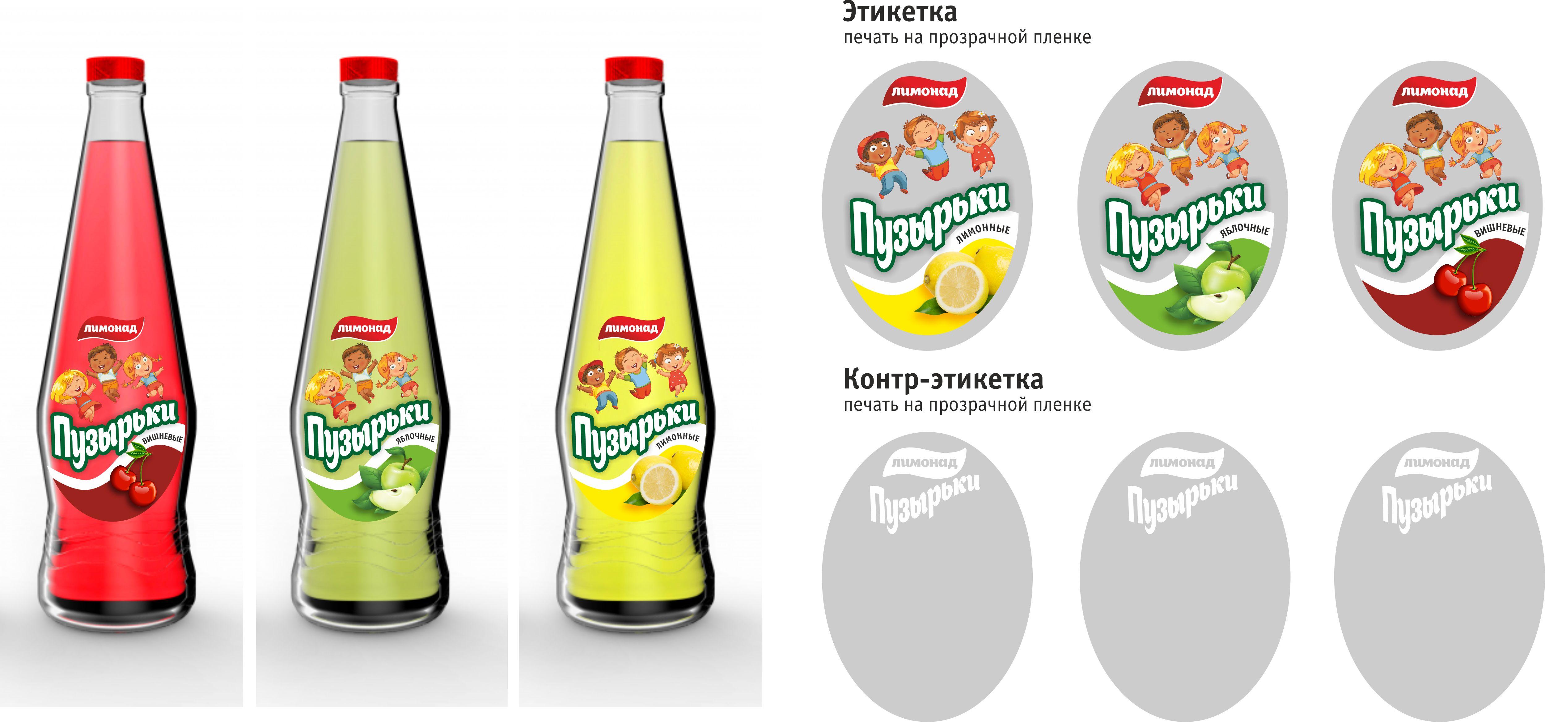 Проект этикетка лимонада (продается)