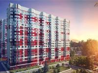 3d визуализация здания или комплекса зданий, жилых или промышленных, с...
