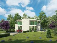 3d визуализация экстерьера дома, студия ICEBERG Media