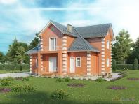Прекрасный проект загородного дома для постоянного проживания и полноценного отдыха семьи