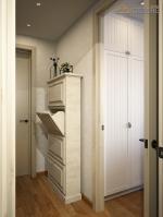 Дизайн проект квартиры. Г. Красногорск. Сочетание элементов лофта и скандинавского стиля.