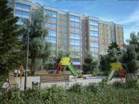 3d визуализация жилого здания, студия ICEBERG Media