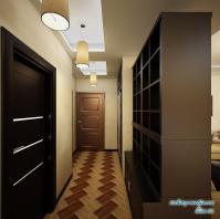 Прихожая 3-х комнатная квартира