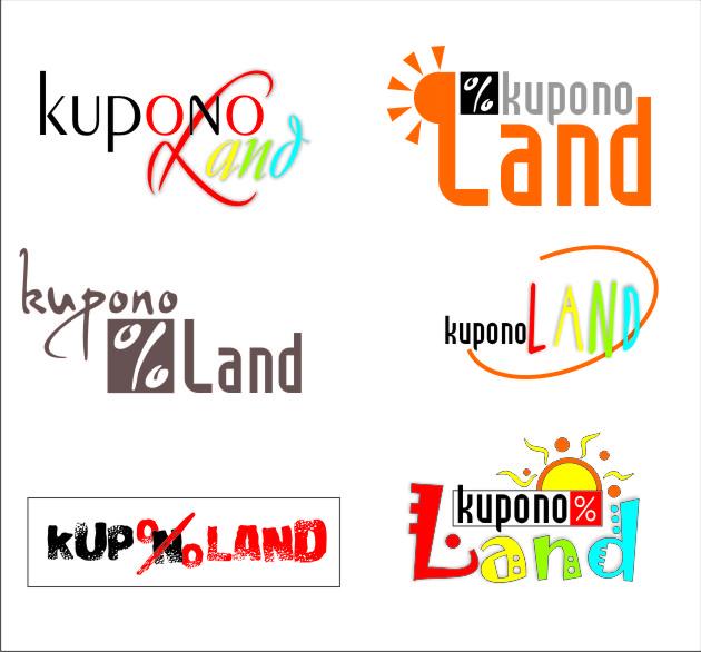 "Варианты логотипа ""KuponoLand"""
