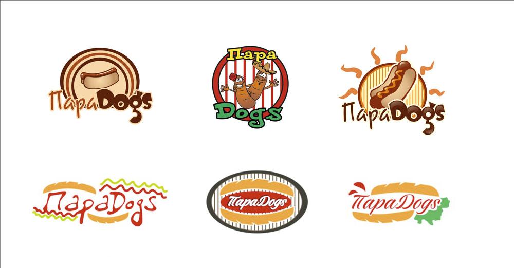 Логотип ПараDogs (варианты )