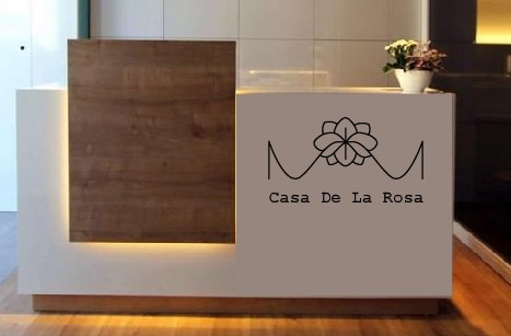 Логотип + Фирменный знак для элитного поселка Casa De La Rosa фото f_5195cd2d8165a740.jpg