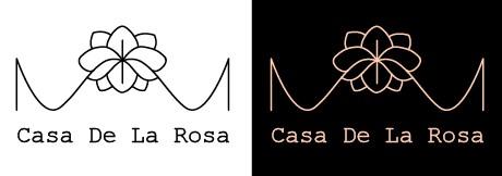 Логотип + Фирменный знак для элитного поселка Casa De La Rosa фото f_9105cd2d86919513.jpg