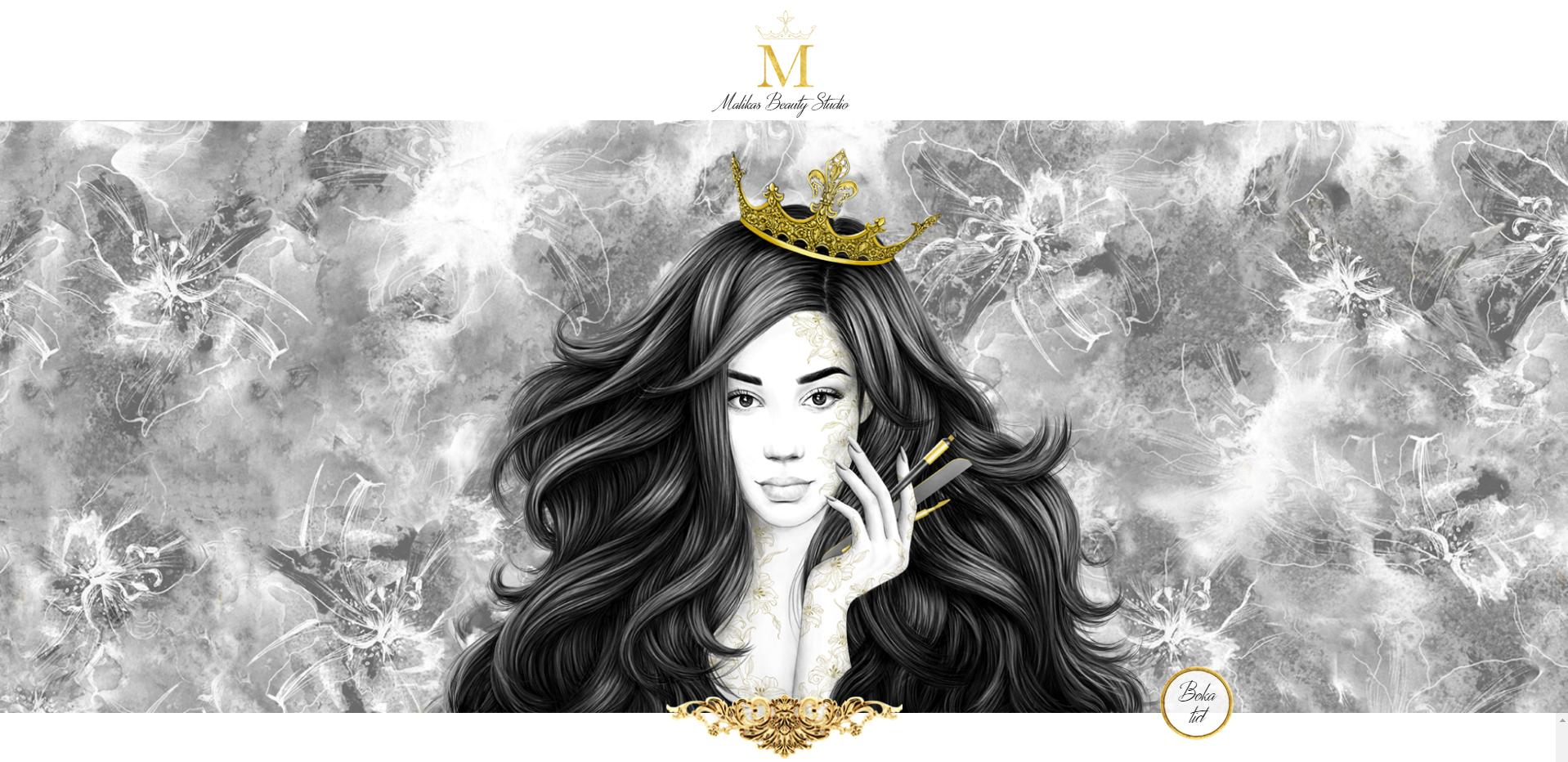 Malikas Beauty Studio (WordPress)