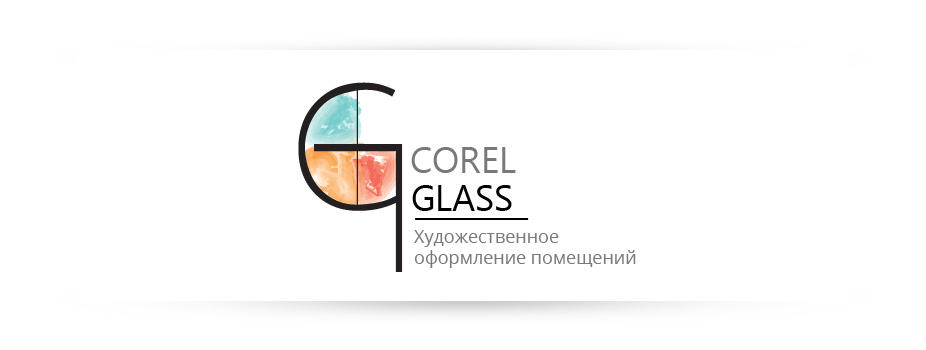 Corel-Glass Logo