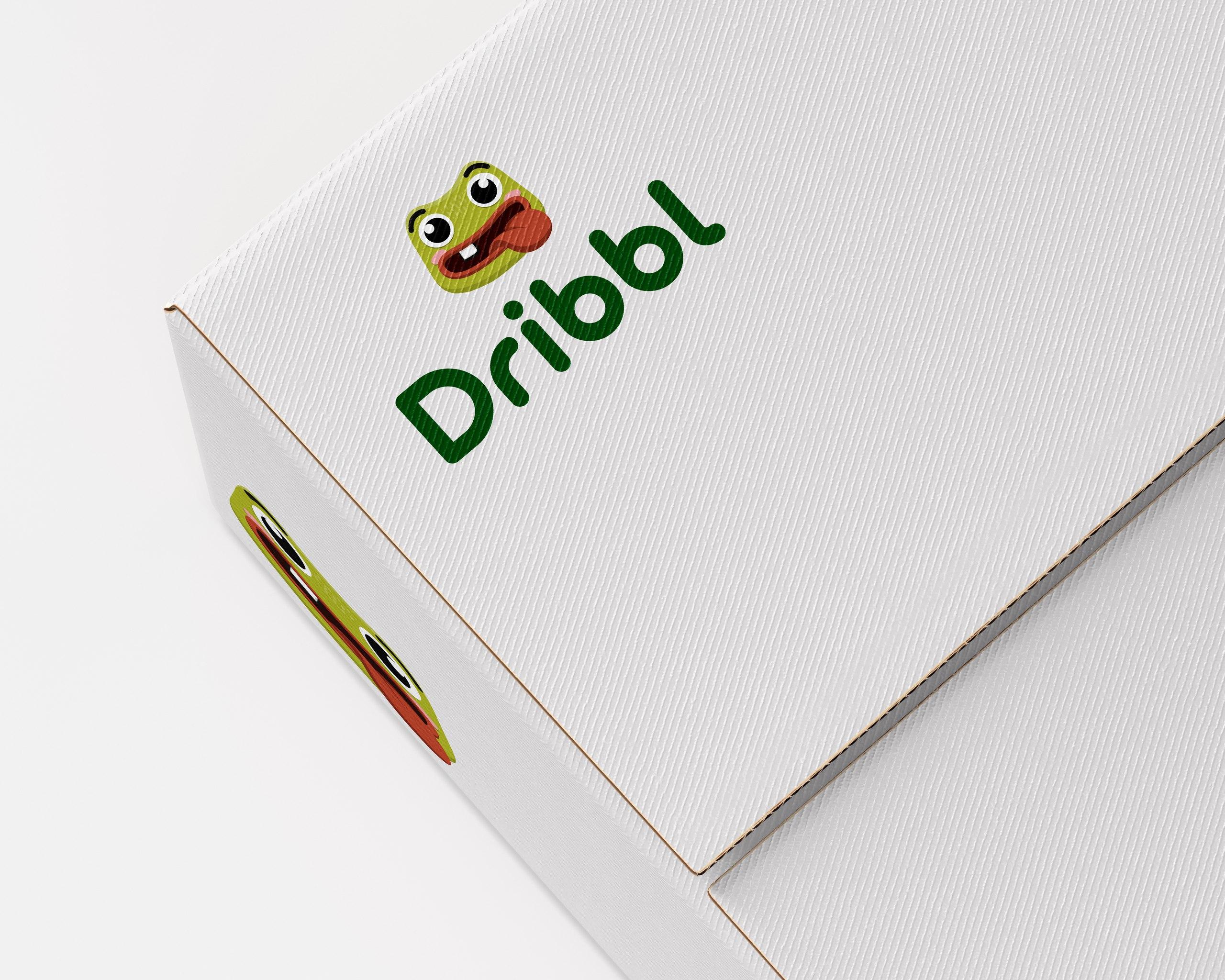 Разработка логотипа для сайта Dribbl.ru фото f_2195a9c2ab38bfcc.jpg