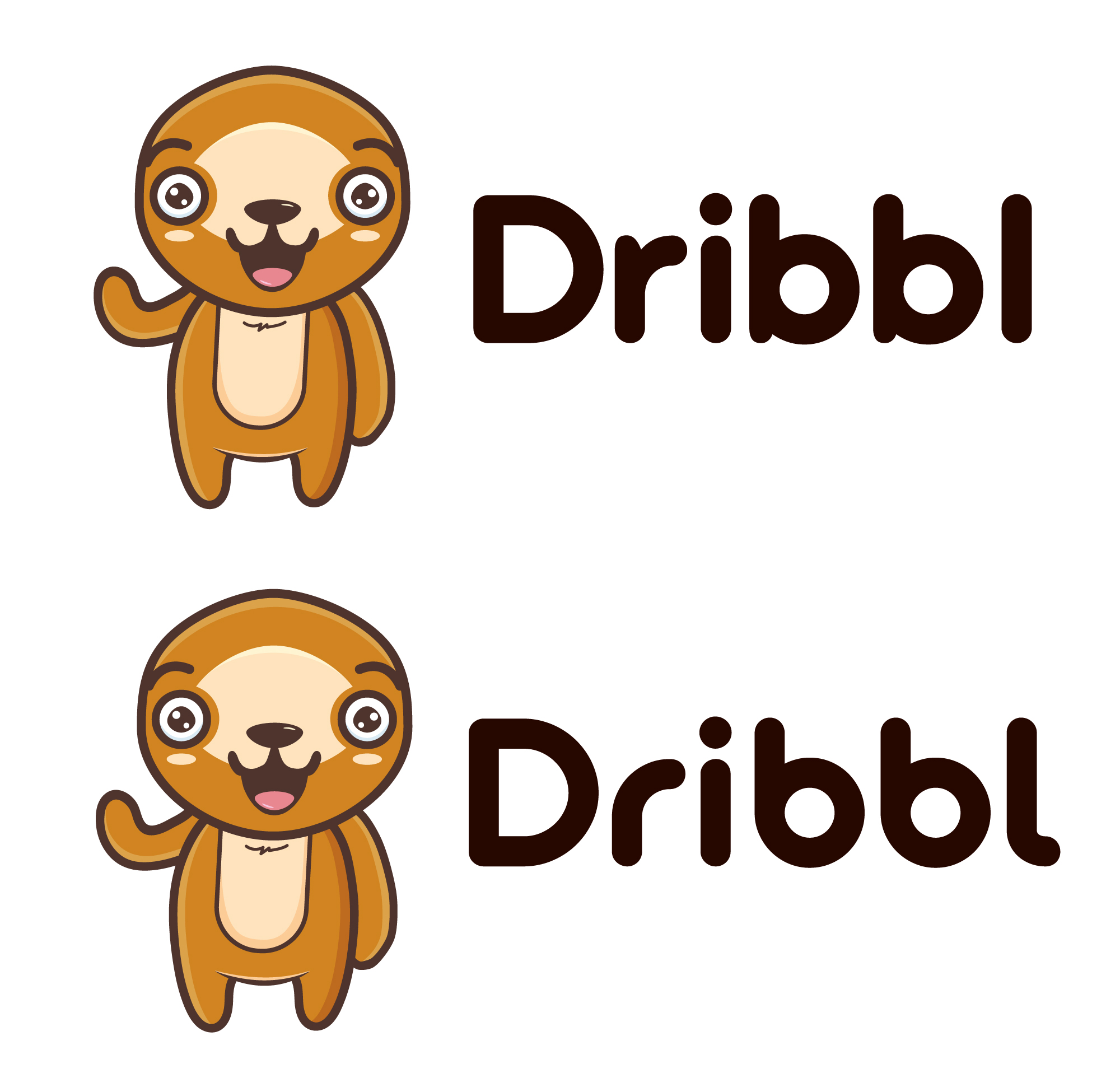 Разработка логотипа для сайта Dribbl.ru фото f_7265a9b588449409.jpg