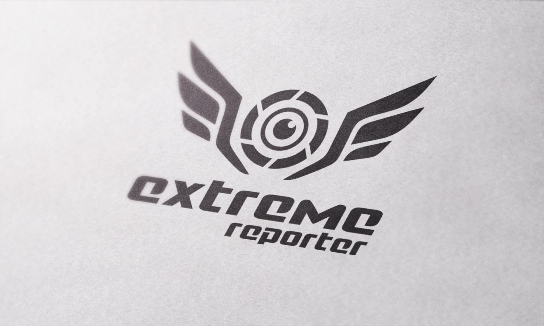 Логотип для экстрим фотографа.  фото f_3145a5230221a812.jpg