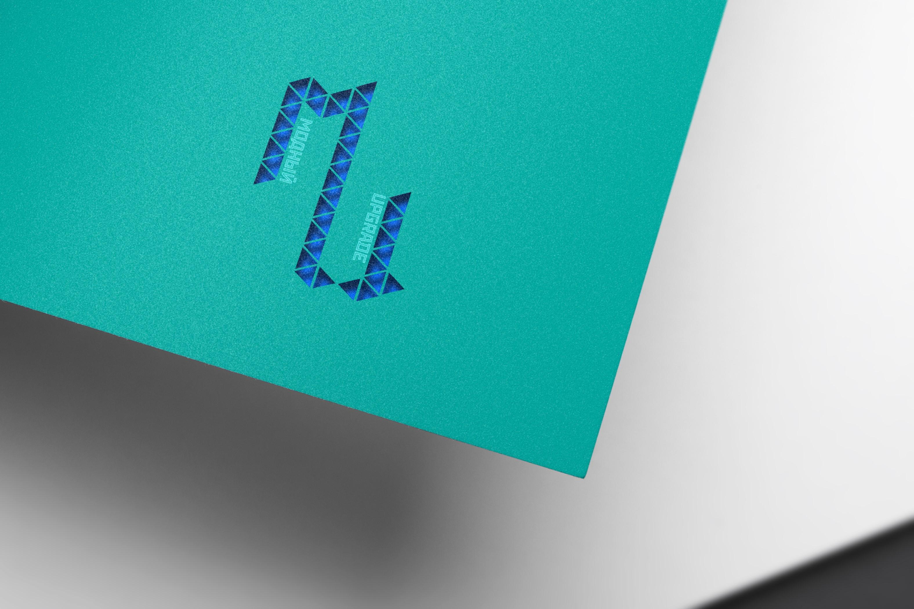 "Логотип интернет магазина ""Модный UPGRADE"" фото f_7015945dabf410a9.jpg"