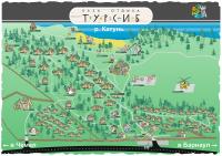 """Карта базы отдыха """"Турсиб"""""""