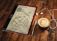 Обложка туристического каталога по Алтаю