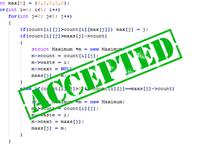 Решение олимпиадных задач любого уровня сложности + разбор. C++/c#/c,...