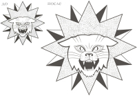 Перевод из растра в вектор (эскиз татуировки)