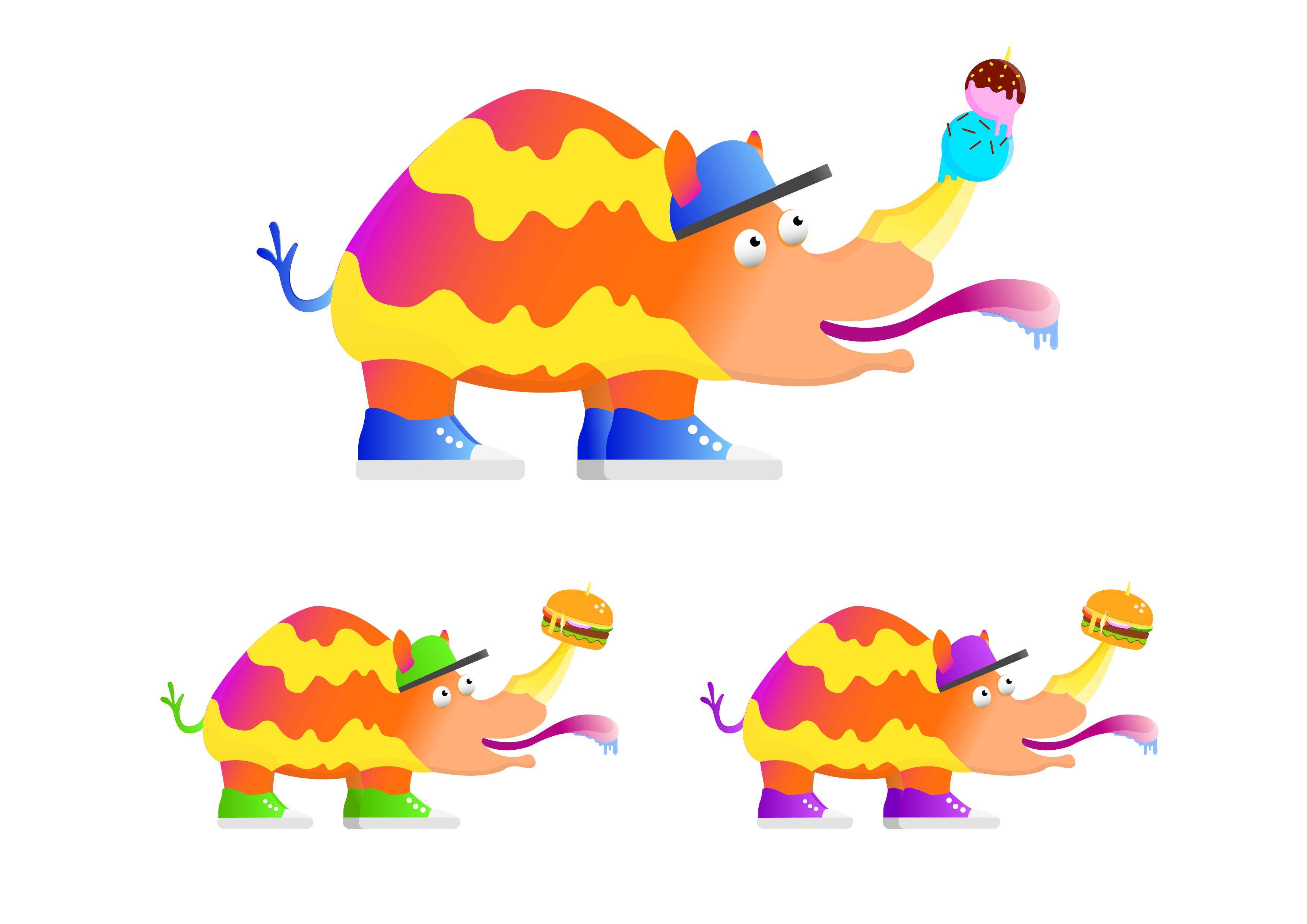 Разработать логотип и персонажа для кафе фото f_4595958d97249659.jpg
