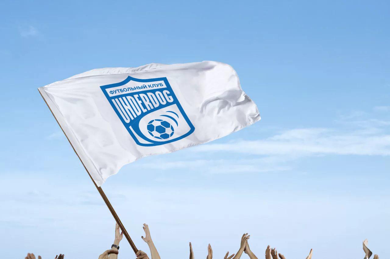 Футбольный клуб UNDERDOG - разработать фирстиль и бренд-бук фото f_1925cb3b8189a0f0.jpg