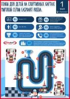 Афиша в виде инфографики