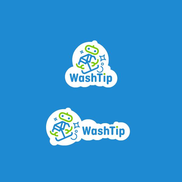 Разработка логотипа для онлайн-сервиса химчистки фото f_2475c064e185a7a7.png