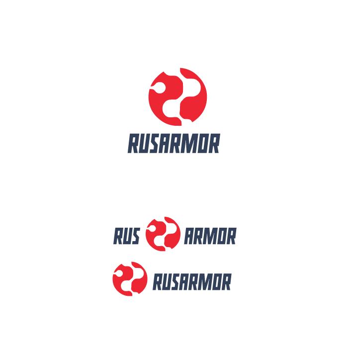 Разработка логотипа технологического стартапа РУСАРМОР фото f_6435a0952eb448c0.png