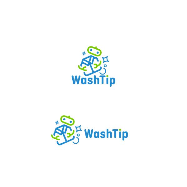 Разработка логотипа для онлайн-сервиса химчистки фото f_7375c063a88f4129.png