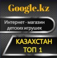 Продвижение ИМ детских игрушек по Google.kz