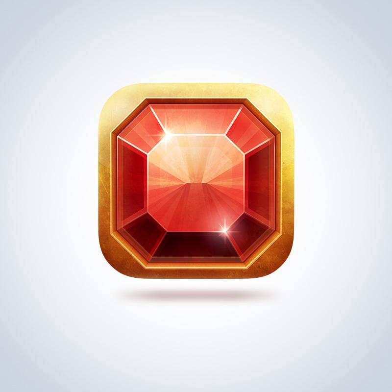 Иконка iOS приложения «Slot Gem»