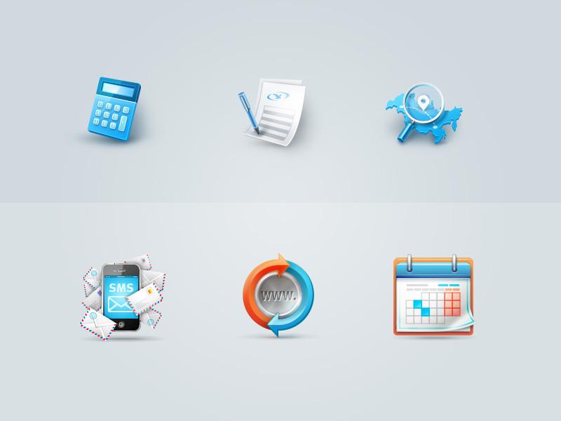 Иконки для разных сайтов