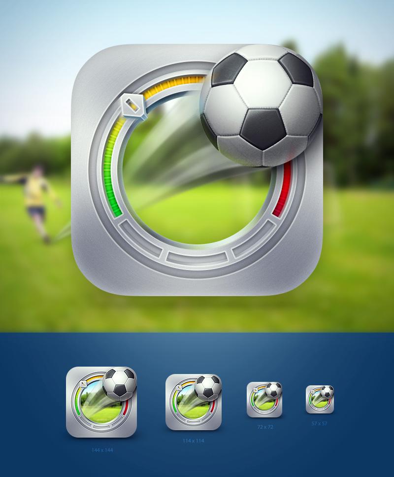 Иконка iOS приложения «SpeedBall»