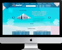 Разработка и обновление дизайна на сайте X-HOSTER
