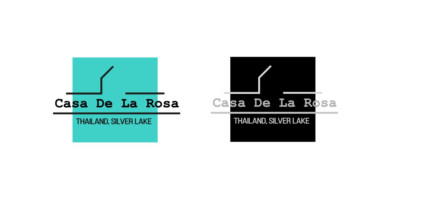 Логотип + Фирменный знак для элитного поселка Casa De La Rosa фото f_7925cd3db66b4224.png