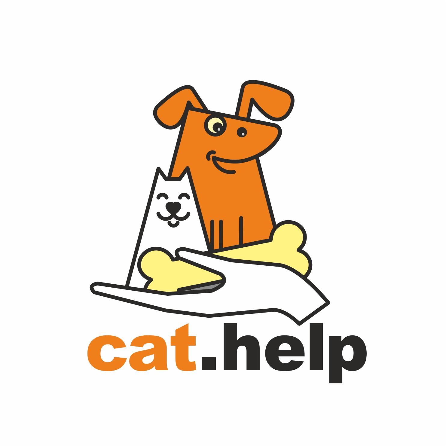 логотип для сайта и группы вк - cat.help фото f_24659db47e8205a5.jpg
