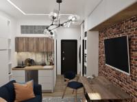 Дизайн апартаментов с чертежами 2