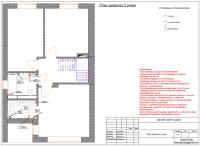 Чертежи по дизайну частного дома 2