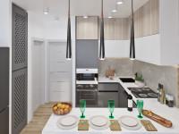 Дизайн кухни с мебелью IKEA